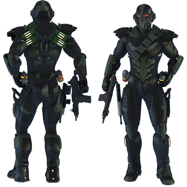 Human Mercenary circa 4435