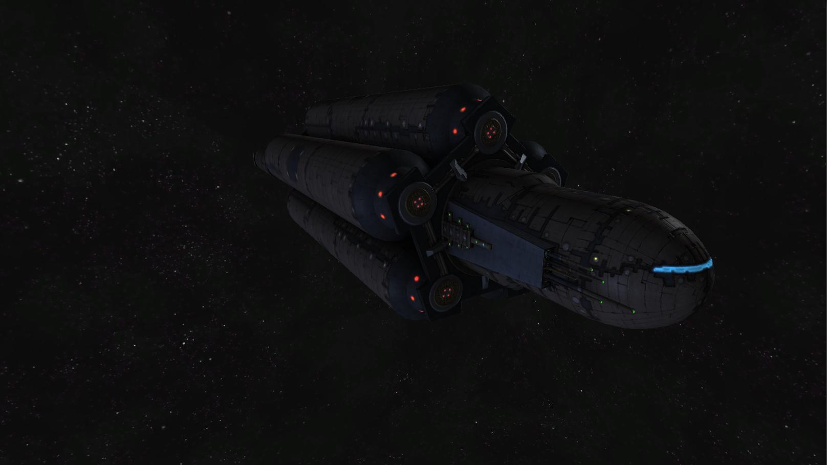 Serjaum tanker - front view
